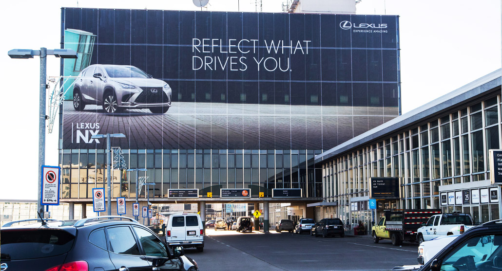 lexus_edmonton_airport_tower_wrap_luxury_pattison