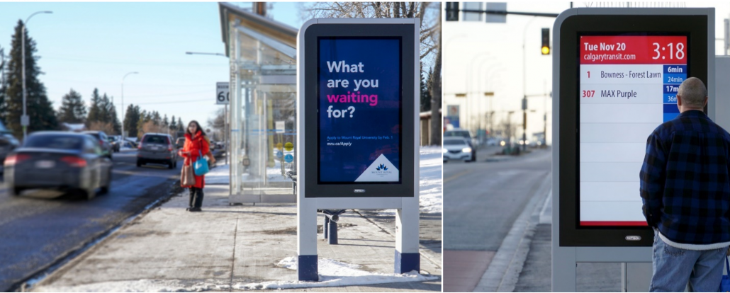pattison_outdoor_new_calgary_brt_max_transit_digital_passenger_screens