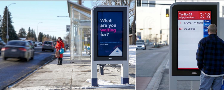 PATTISON Outdoor Transforms Calgary's Bus Rapid Transit